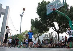 【gad杭州公司】趣味投篮比赛,今夏火力全开