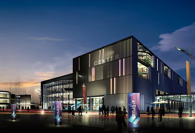是上虞市规划发展的商业中心