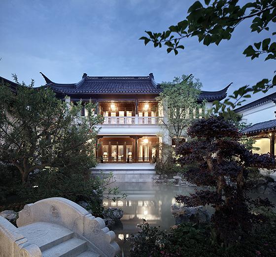 杭州云栖玫瑰园中式大宅