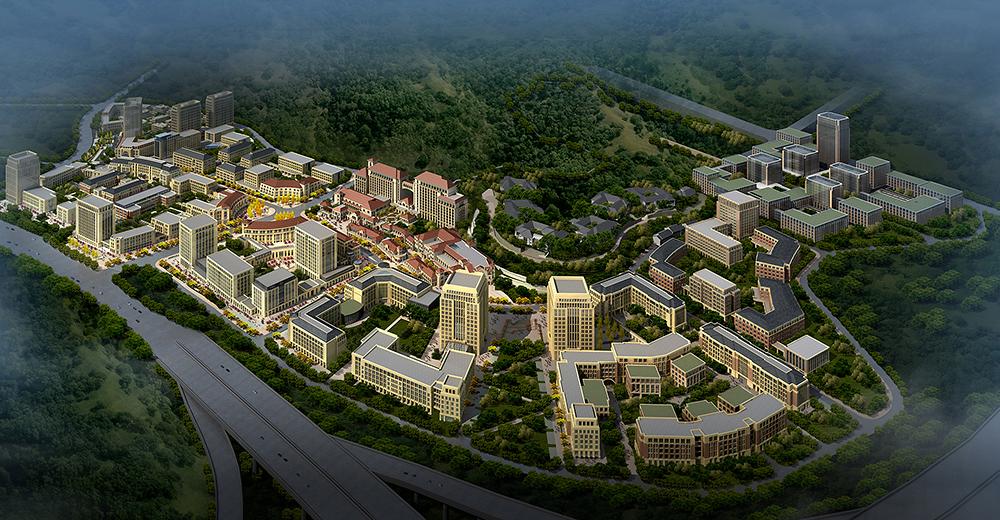 重庆两江新区总部片区(公共部分)