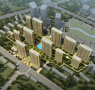 信地城市广场住宅项目