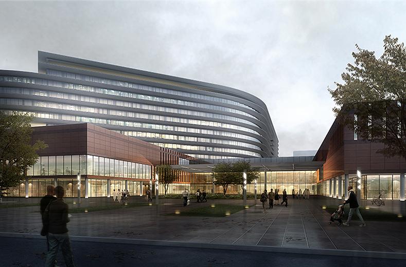 医院入口广场设计