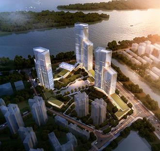 长沙新银州城住区项目