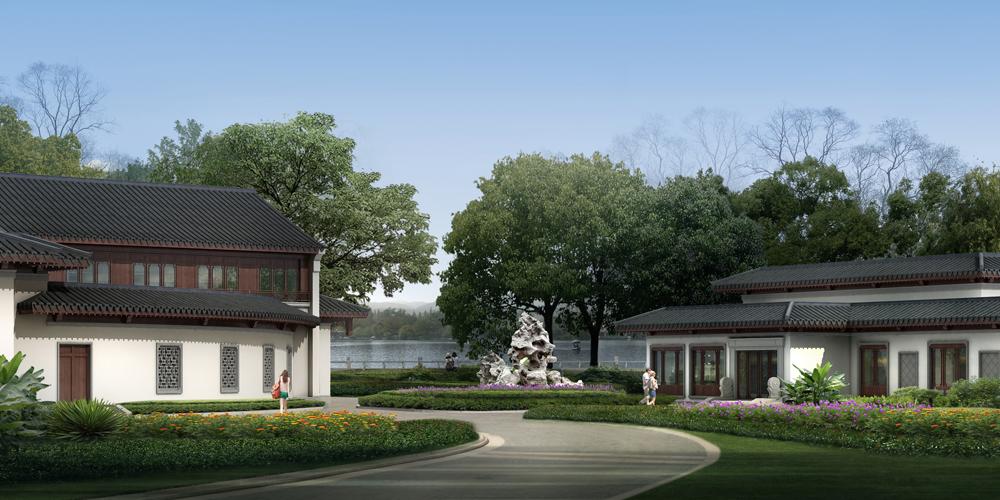 柳莺宾馆立面改造项目