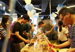 【gad重庆公司】员工食堂开伙party——私家厨艺大比拼