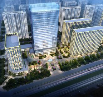 多湖中央商务区城中村改造三期项目
