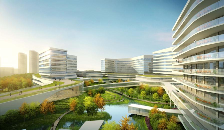 通过对传统医院模式的探讨以及园林景观的融合,提升整个医院就医氛围