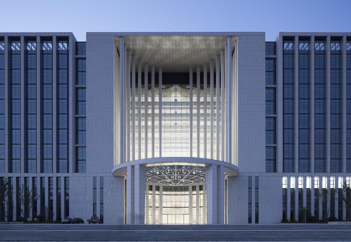 即墨省级经济开发区蓝色新区公共服务中心