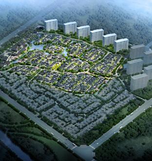任丘孔雀城项目