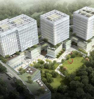 黄龙西溪路美盛·升华·杰地企业总部项目