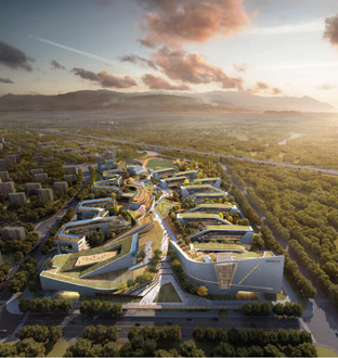 重庆大学城南开中学学校工程方案设计