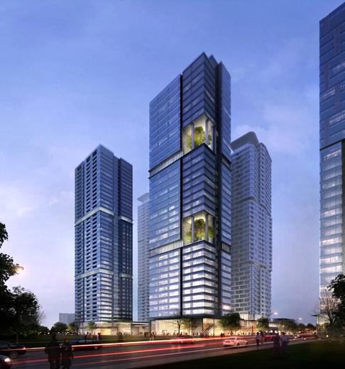 重庆江北嘴金融城