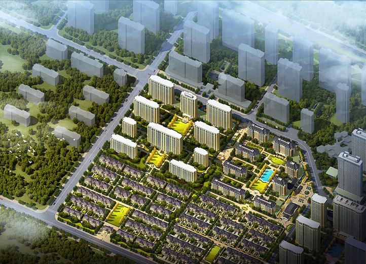 淄博绿城百合花园二期