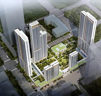 中信泰富武汉汉口滨江国际商务区三、四区域21号地块