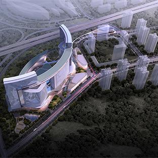重庆两江新区鱼嘴汽车城B地块项目